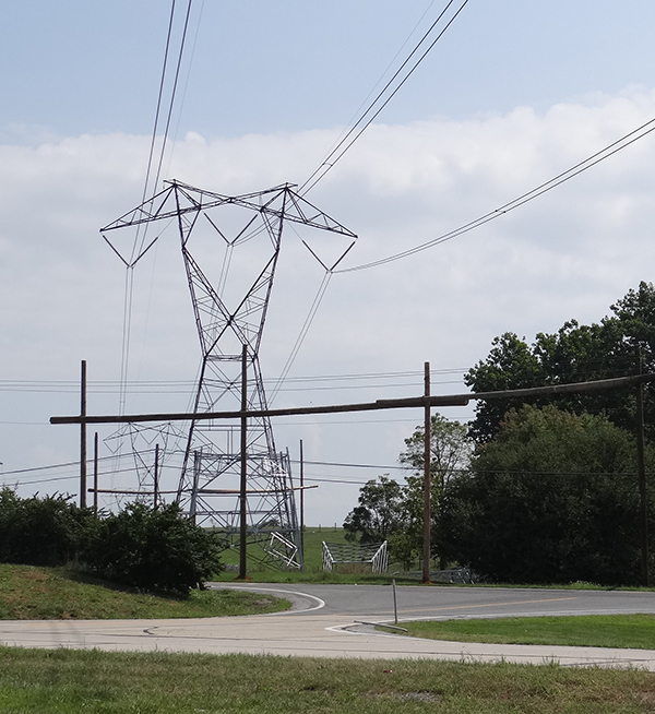 Favorite types of power lines along highways